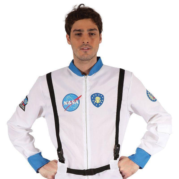 Mens Astronaut (Male) (Adult Costumes) - Male - One Size Halloween Costume