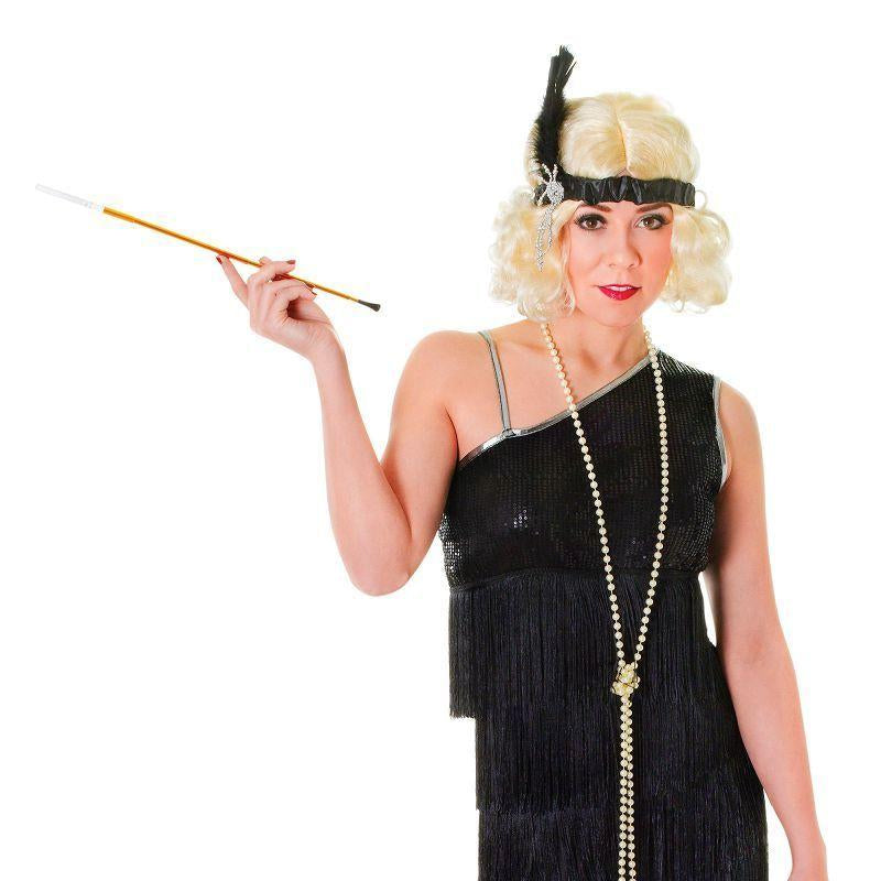 Womens Flapper Dress. Black Diamond Adult Costumes - Female - One Size Halloween Costume