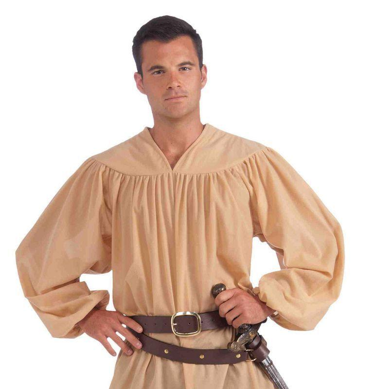 Mens Medieval Shirt Adult Costumes - Male - One Size Halloween Costume