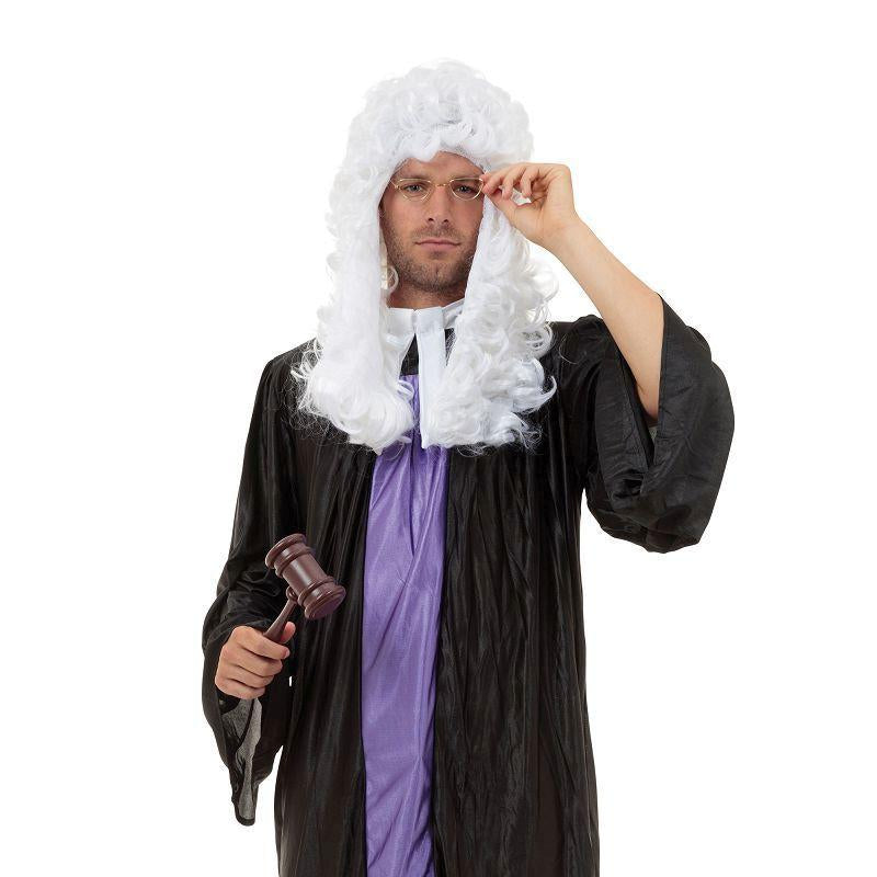 Mens Judge Gown Adult Costume - Male - One Size Halloween Costume