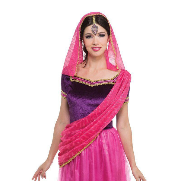 Bollywood Lady (Adult Costumes) - Female - UK Size 10-14