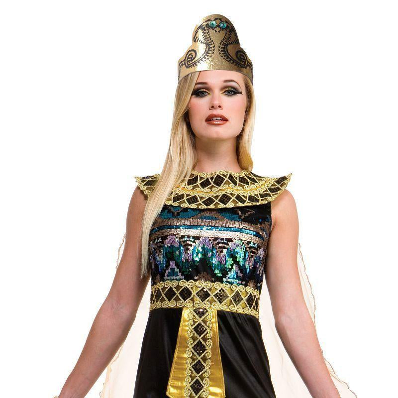 Egyptian Sequin Dress (Adult Costumes) - Female - UK Size 10-14