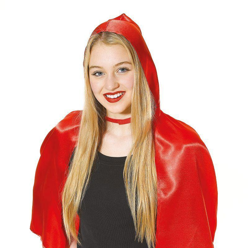Womens Red Riding Hood Cape Adult Costume - Female - One Size Halloween Costume