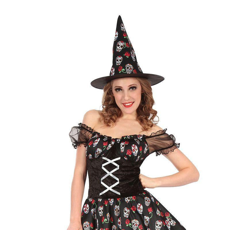 Witch Skull Design (Adult Costumes) - Female - UK Size 10-14