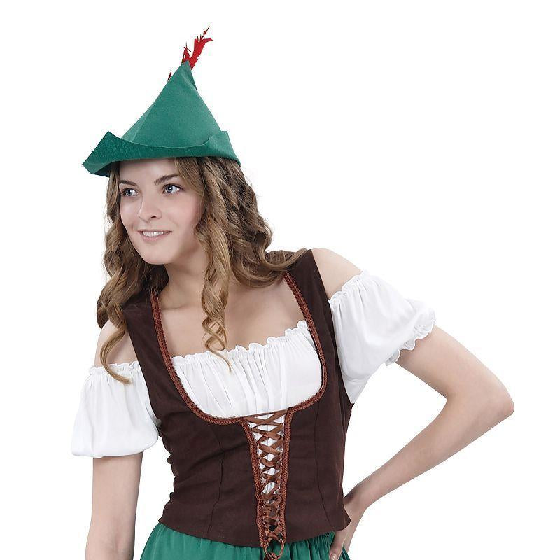 Womens Robin Hood Lady (Budget) Adult Costumes - Female - One Size Halloween Costume