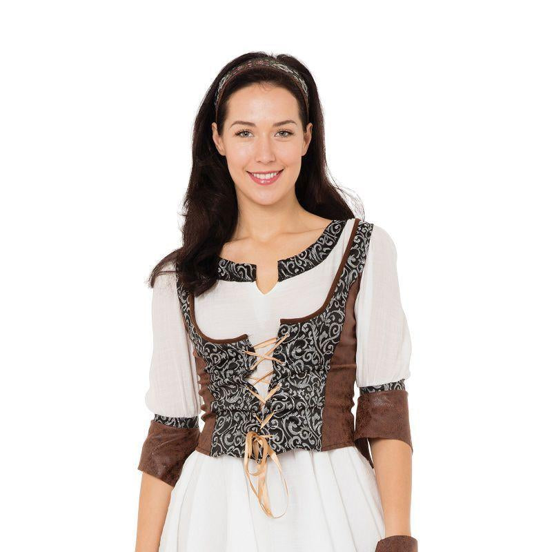 Medieval Huntress (Adult Costumes) - Female - UK Size 10-14