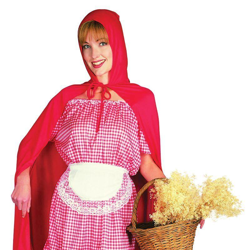 Womens Red Riding Hood Adult Costume - Female - One Size Halloween Costume