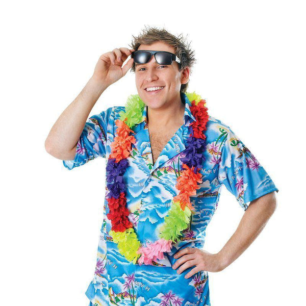 Mens Hawaiian Mans Costume Adult Costume - Male - One Size Halloween Costume