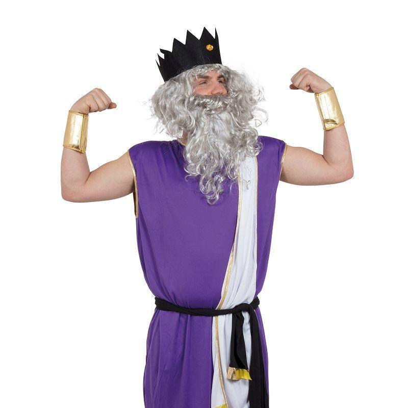 Mens King Neptune. Adult Costume- Male - One Size Halloween Costume