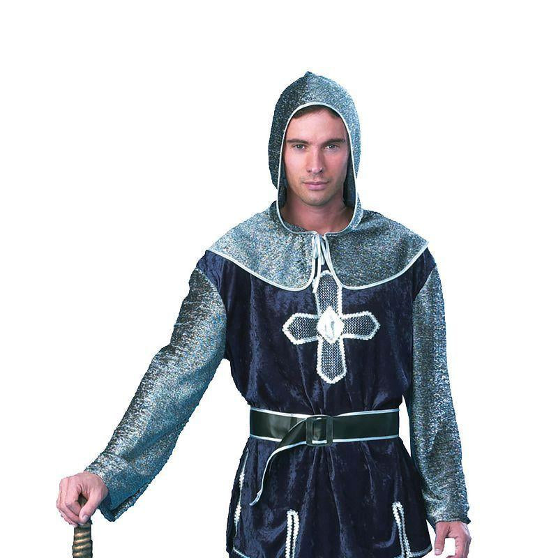 "Mens Medieval Knight Ff 56/58 Adult Costume - Male - UK Chest Size 46""-48""/ Waist Size 38""-40"" Halloween Costume"