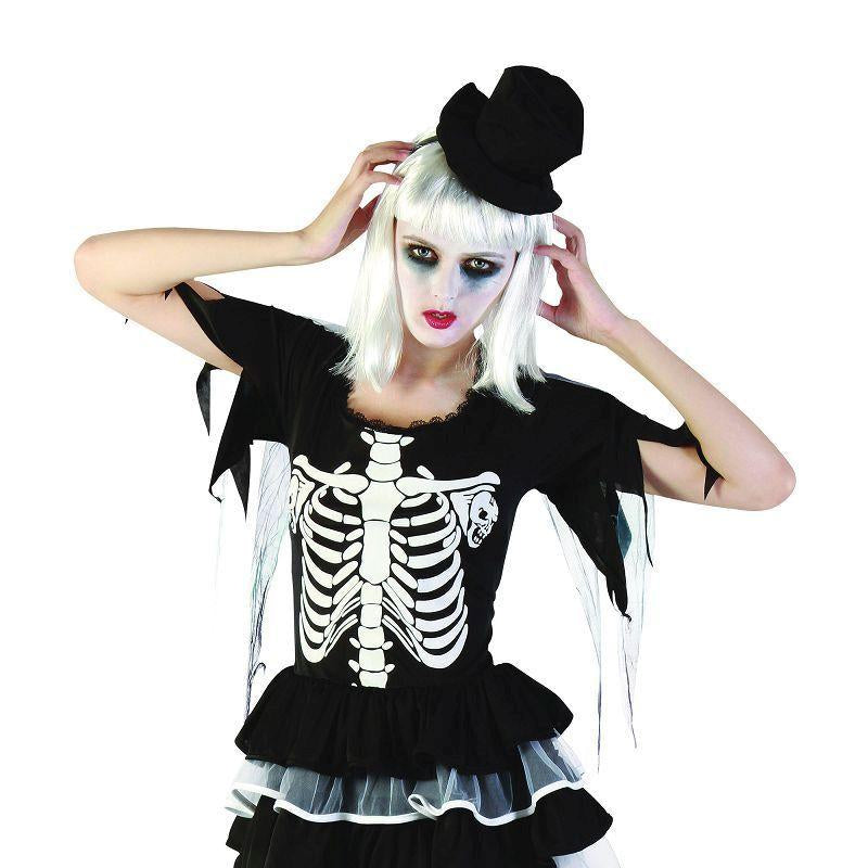 Womens Skeleton Lady. Adult Costume- Female - One Size Halloween Costume