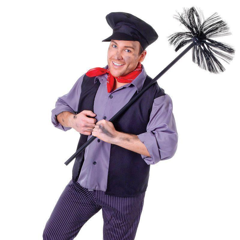 Mens Chimney Sweep Adult Costume - Male - One Size Halloween Costume