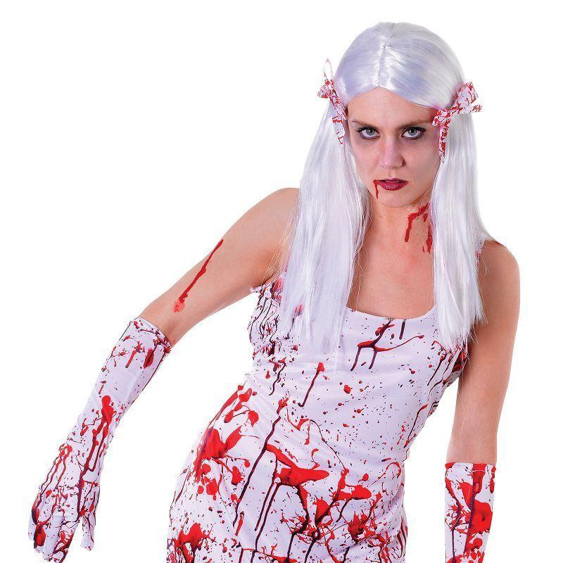 Womens Bloody Dress Adult Costume - Female - One Size Halloween Costume