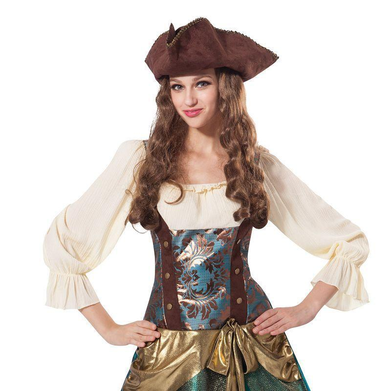Pirate Princess Deluxe (Adult Costumes) - Female - UK Size 10-14