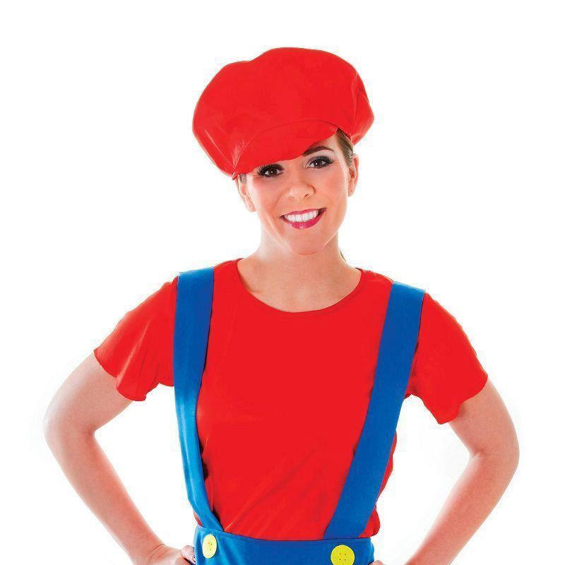 Womens Plumber Lady. Adult Costume- Female - One Size Halloween Costume