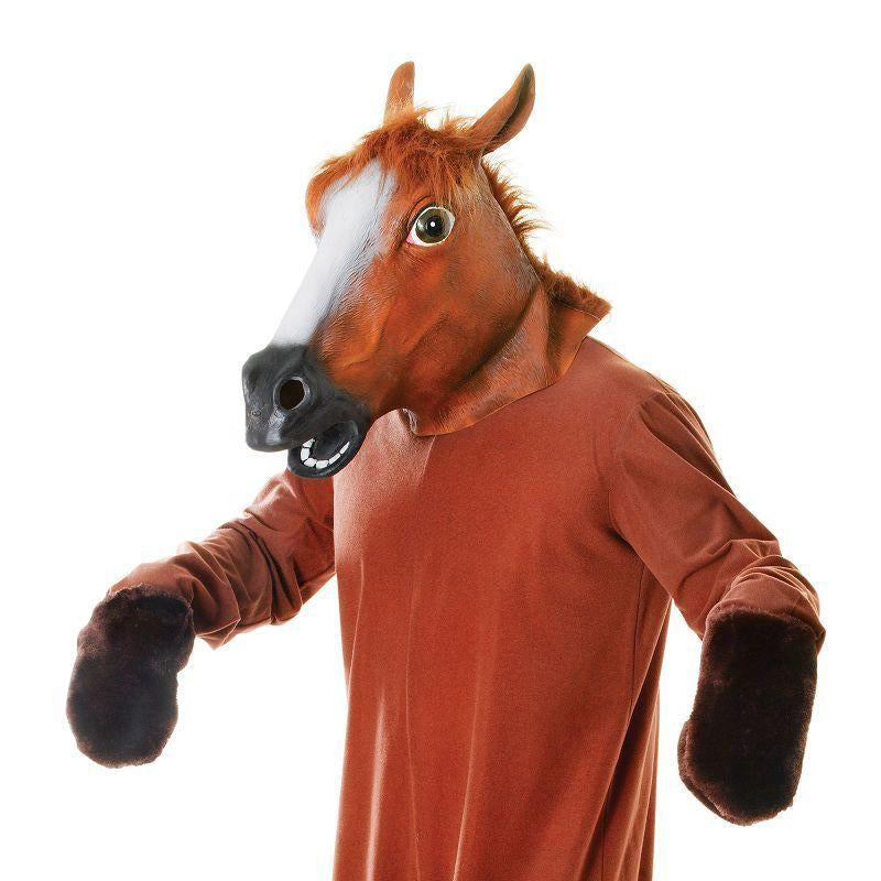 Horse (Mask & Body) Adult Costume - Unisex - One Size