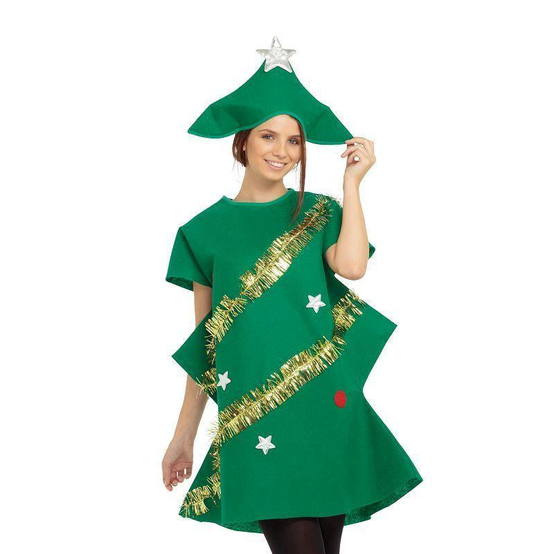 Womens Xmas Tree Adult Costume - Female - One Size Halloween Costume