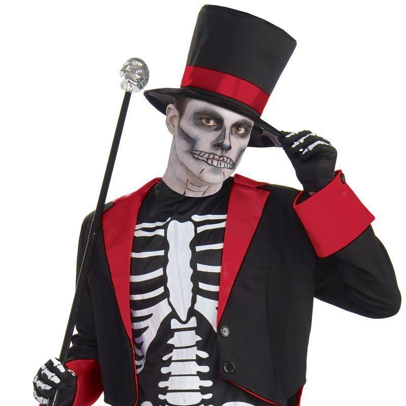 Mens Mr Bone Jangles. Adult Costume- Male - One Size Halloween Costume