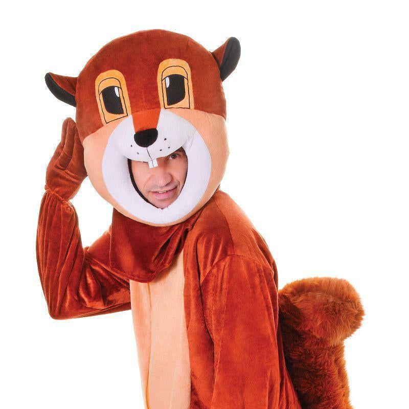 Squirrel. Big Head. Adult Costumes - Unisex - One Size