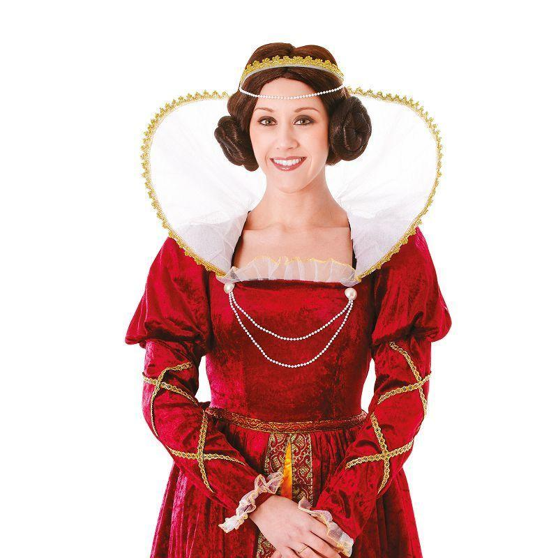 Womens Queen Elizabeth Adult Costume - Female - One Size Halloween Costume