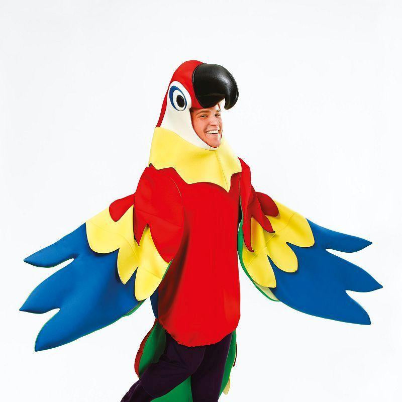 Mens Parrot Costume Adult Costume - Male - One Size Halloween Costume