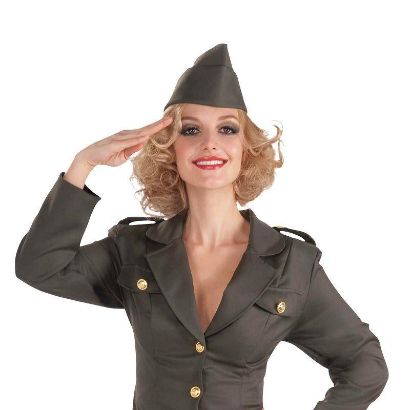 Mens WW2 Army Gal. (Adult Costumes) - Male - One Size Halloween Costume
