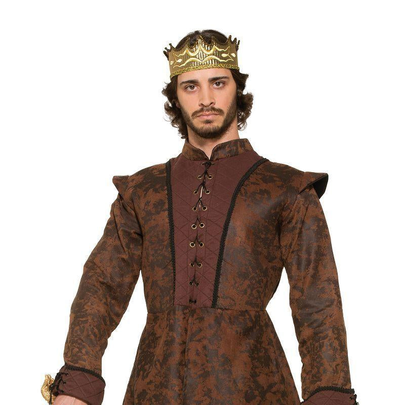 Mens Kings Coat (Medieval) (Adult Costumes) - Male - One Size Halloween Costume