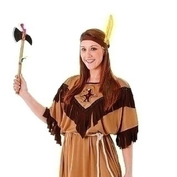 Womens Indian Lady Budget Adult Costume - Female - One Size Halloween Costume