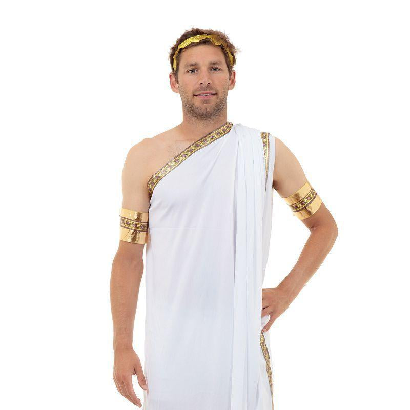 Mens Caesar Adult Costume - Male - One Size Halloween Costume
