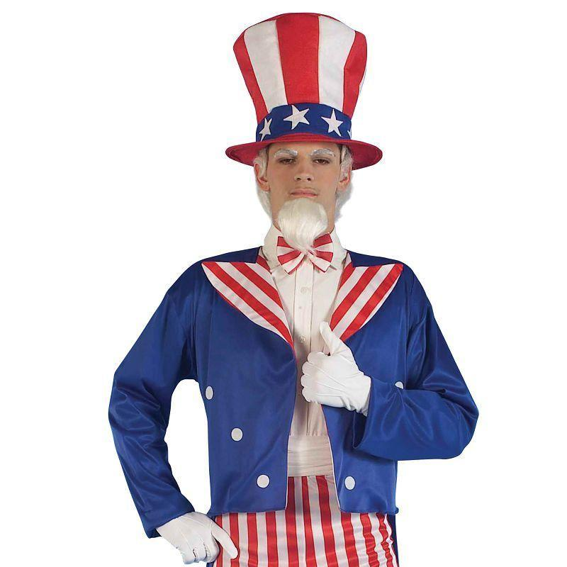 Mens Uncle Sam (Adult Costumes) - Male - One Size Halloween Costume