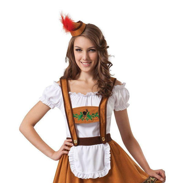 Womens Geman Country Bar Girl (Adult Costumes) - Female - One Size Halloween Costume