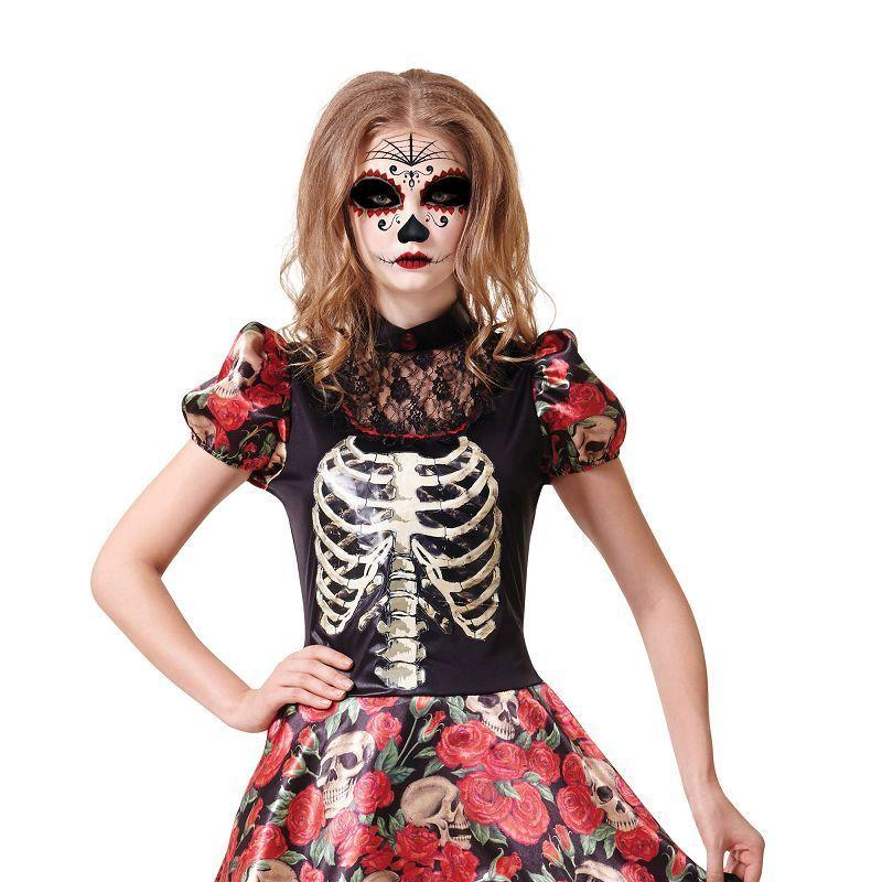 Womens Day of the Dead Doll (Adult Costumes) - Female - One Size Halloween Costume