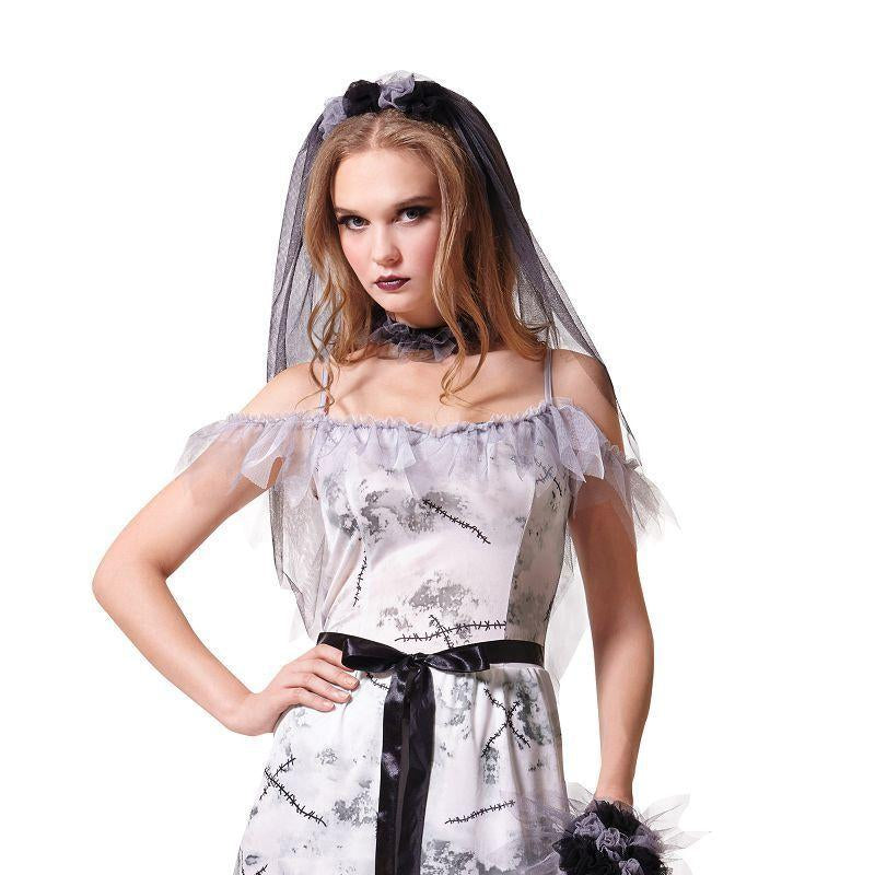 Womens Zombie Corpse Bride (Adult Costumes) - Female - One Size Halloween Costume