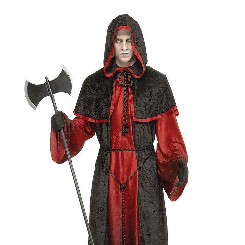 Mens Demon Robe Adult Costume - Male - One Size Halloween Costume