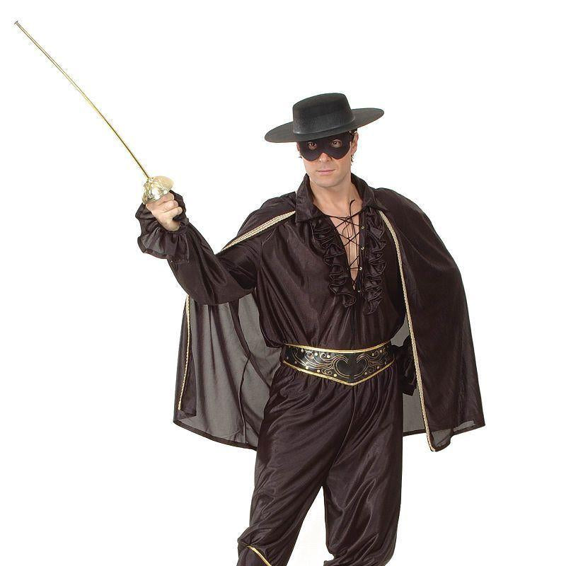 Mens Bandit Man Deluxe Adult Costume - Male - One Size Halloween Costume