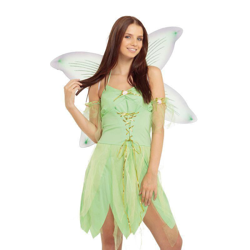 Womens Green Fairy Adult Costume - Female - One Size Halloween Costume
