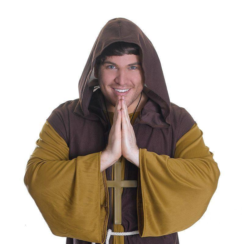 "Mens Friar Tuck. (Adult Costumes) - Male - Chest Size 44"" Halloween Costume"