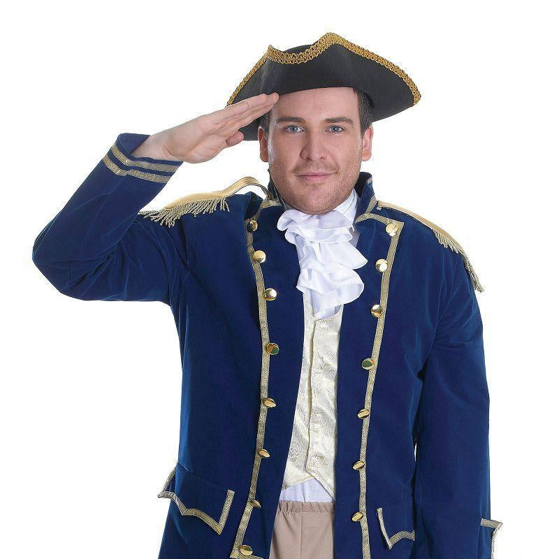 "Mens Admiral of the Fleet. (Adult Costumes) - Male - Chest Size 44"" Halloween Costume"