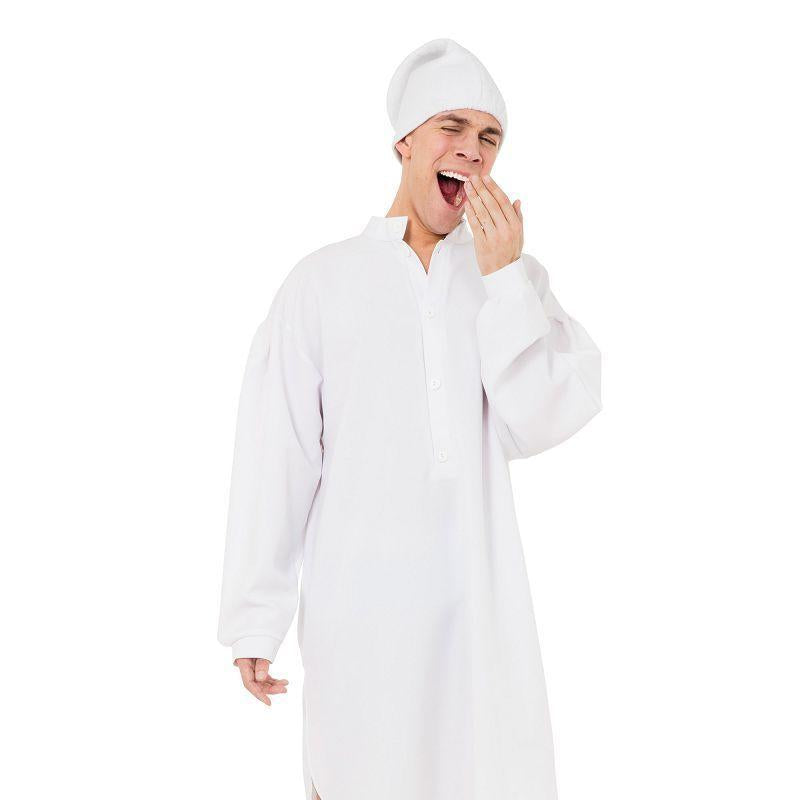 Mens Night Shirt (Male) Adult Costume - Male - One Size Halloween Costume