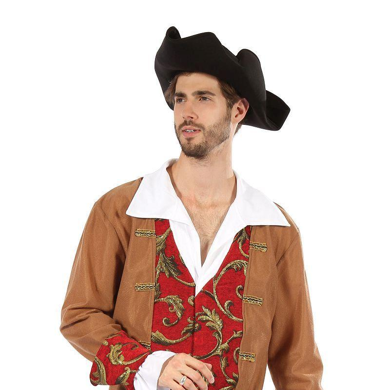 Mens Pirate Male. Red/Brown( Adult Costumes) - Male - One Size Halloween Costume