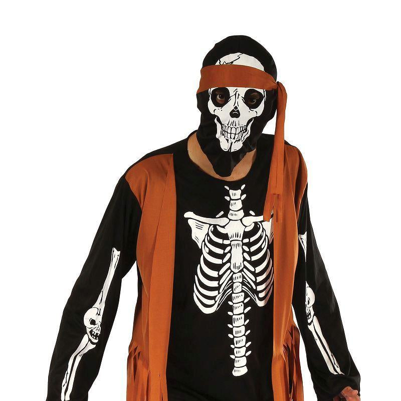 Mens Skeleton Hippy( Adult Costumes) - Male - One Size Halloween Costume