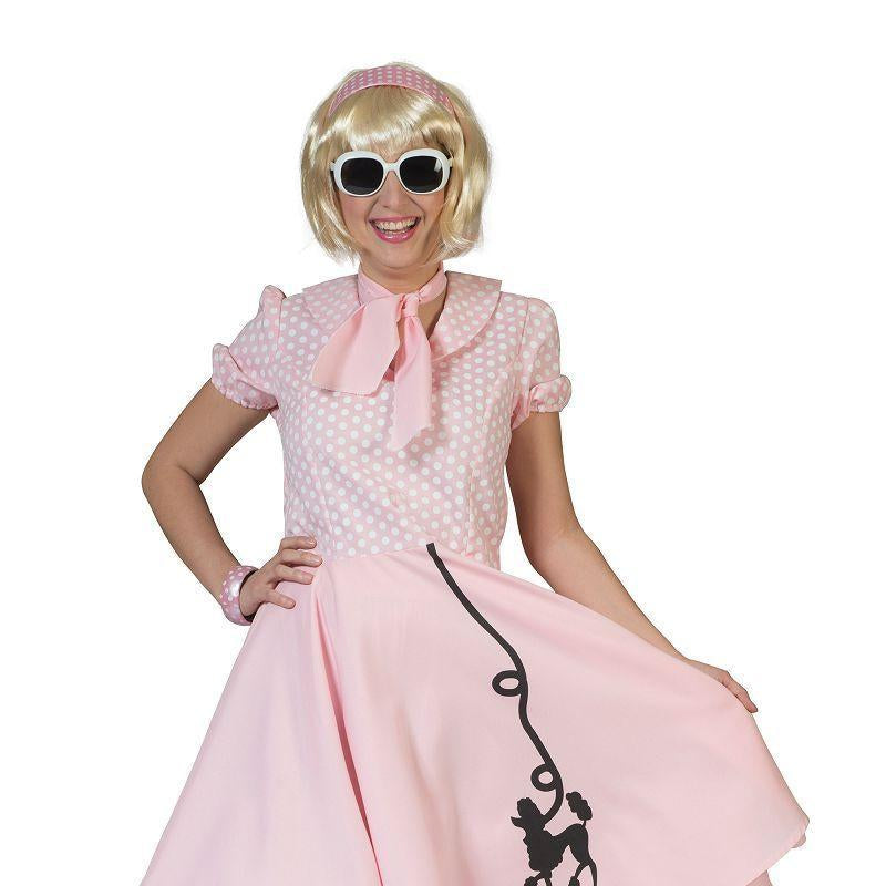 Womens Poodle Dress. Pink (40/42) (Adult Costumes) - Female - One Size Halloween Costume