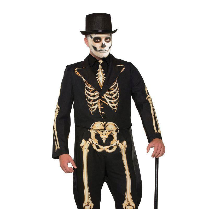 Skeleton Formal Costume (Adult Costumes) - Male - One Size Fits Most