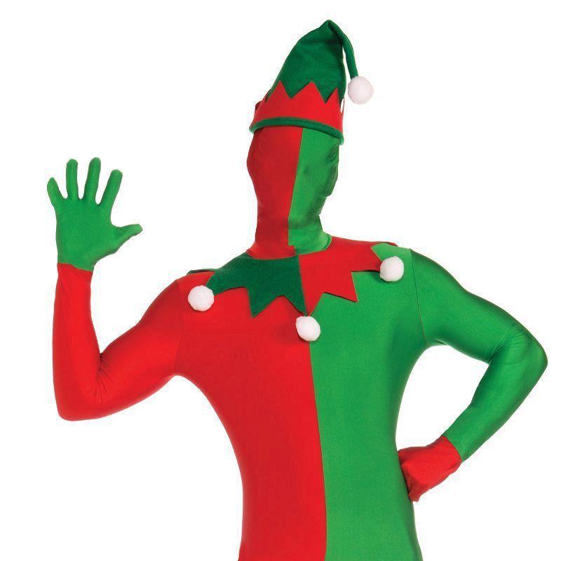 "Mens Elf Suit Disappearing Man. (Adult Costumes) - Male - Chest Size 44"" Halloween Costume"