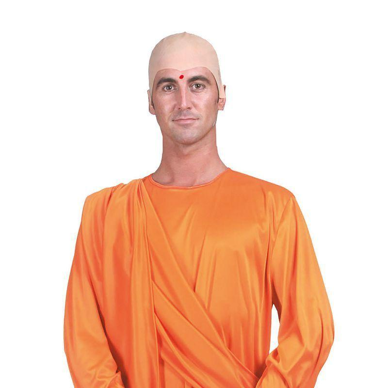 "Mens Hare Krishna Ff (52/54) Adult Costume - Male - UK Chest Size 42""-44""/ Waist Size 34""-36"" Halloween Costume"