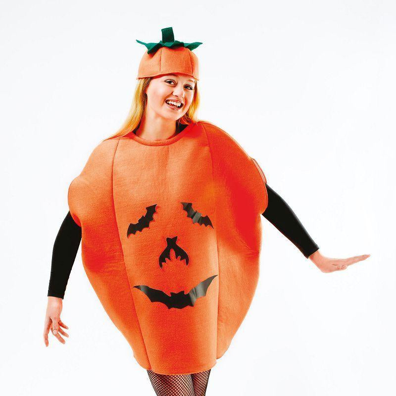 Womens Pumpkin Costume Adult Costume - Female - One Size Halloween Costume