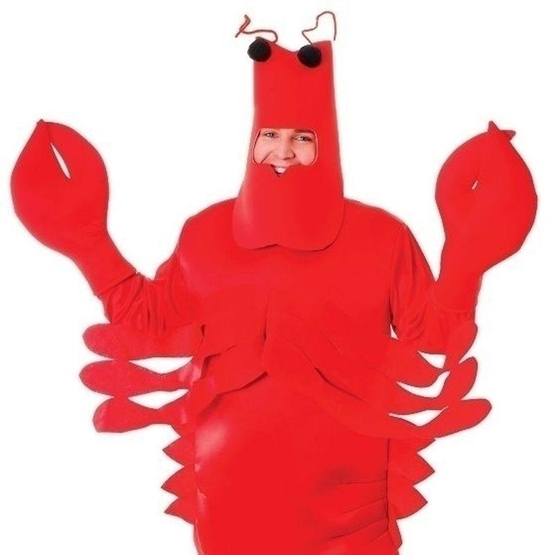 Lobster Adult Costume - Unisex - One Size
