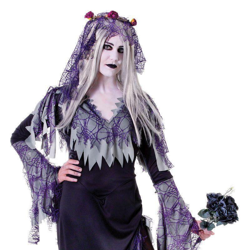 Womens Zombie Bride Adult Costume - Female - One Size Halloween Costume