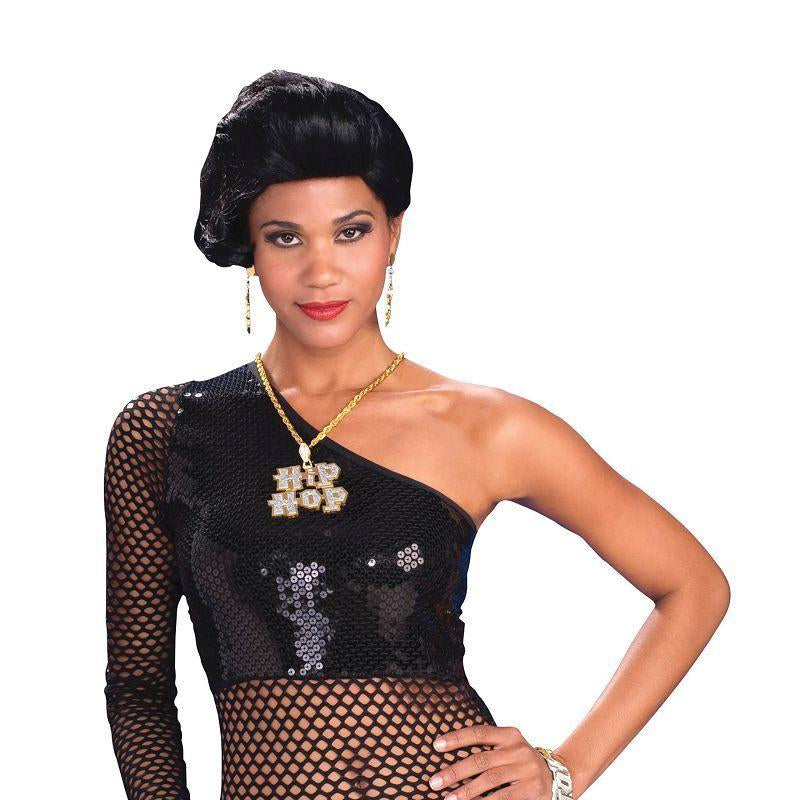 Womens Hip Hop Mesh Top. Female Adult Costume - Female - One Size Halloween Costume