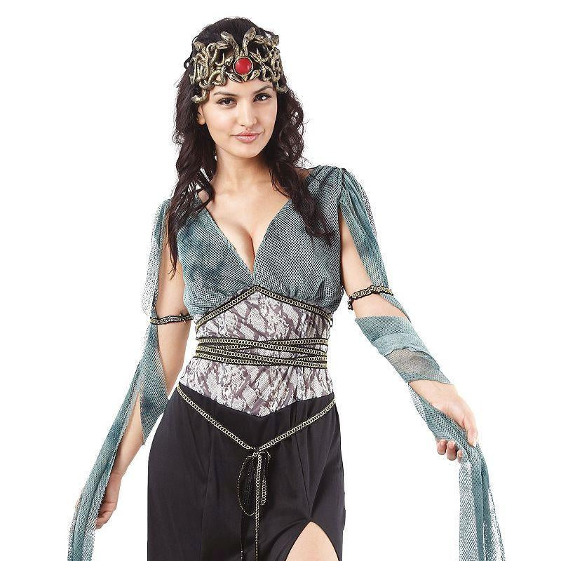 Womens Medusa Adult Costume - Female - One Size Halloween Costume